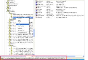 Rejestr lokalizacja informacji o instalacji zarządzanego oprogramowania