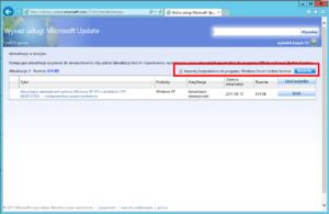 Windows XP KB4012598 - jak zainstalować przez WSUS