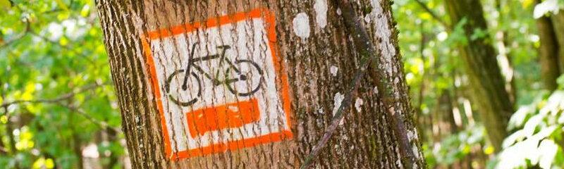 pomarańczowy szlak rowerowy do okoła Poznania
